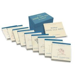 Couverture de Walt Disney Animation Studios The Archive Series : Walt Disney's Nine Old Men: The Flipbooks