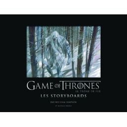 Couverture de Game of Thrones - Les storyboards