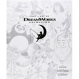 Couverture de Tout l'art de DreamWorks Animation