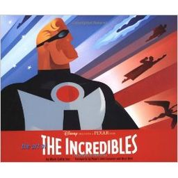Couverture de The Art of The Incredibles