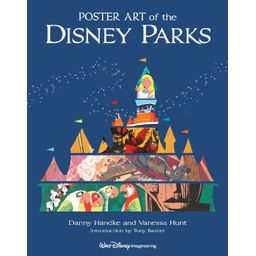 Couverture de Poster art of the Disney Parks