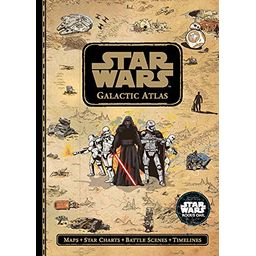 Couverture de Star Wars Galactic Atlas